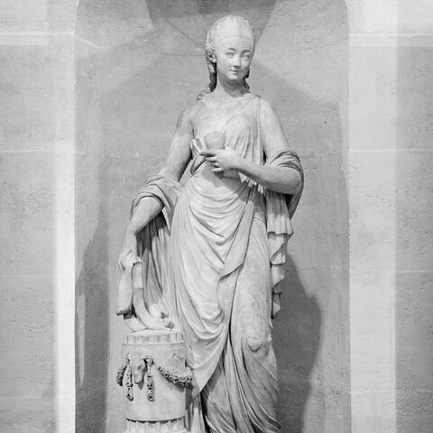 Statue de la Comédie - Louvre Collections