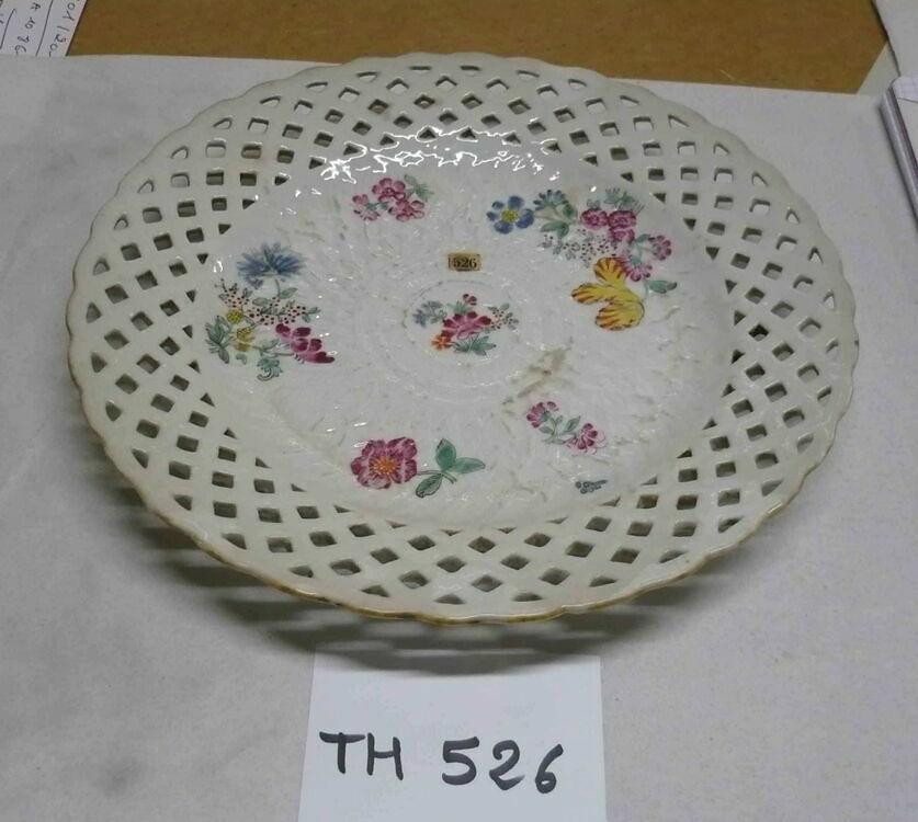Πassiette D 25,5 cm TIRSCHENREUTH PALAIS VERSAILLES