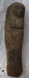figurine ; masque de momie