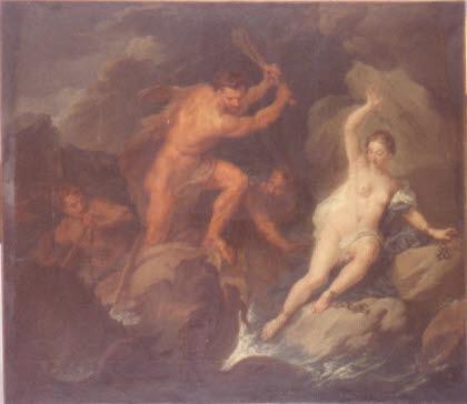 Hercule délivrant Hésione