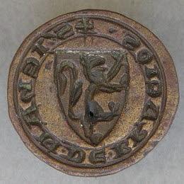 Matrice de sceau : Jean de Bracios.