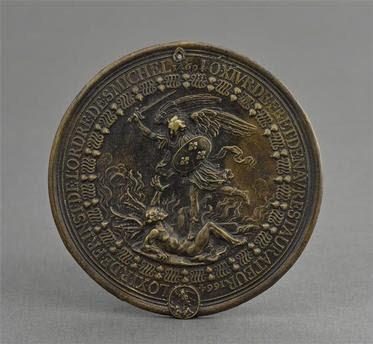 Médaille : Louis XIV restaurant l'Ordre de Saint-Michel