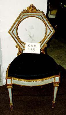 Chaise d'un mobilier de salon, comprenant dix pièces France, XVIIIème siècle ?