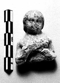 figurine, fragment