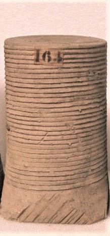 dos, verso, revers, arrière ; détail étiquette © 2009 Musée du Louvre / Antiquités grecques, étrusques et romaines