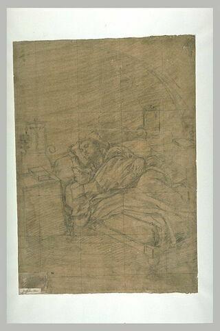 Saint Jérôme endormi