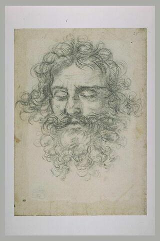 Autoportrait : étude pour la tête d'Holopherne mort