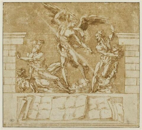 Saint Michel Archange triomphant des péchés capitaux