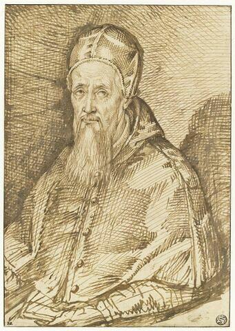 Portrait d'un pape : Grégoire XIII (?)