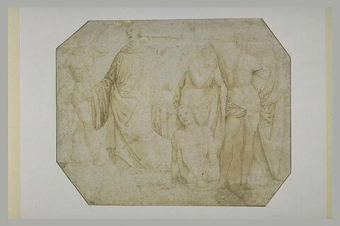 Partie inférieure droite du 'Jugement dernier' de Santa Maria Nuova