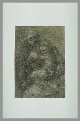 La Vierge à l'Enfant assise
