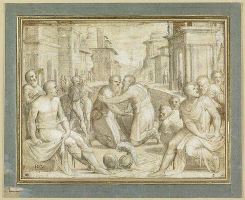 Réconciliation de Marcus Emilius Lepidus et de Flavius Flaccus