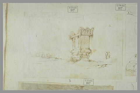 Le tombeau Néron près de Rome