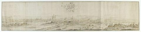Florence vue de la rive gauche de l'Arno