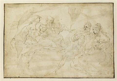 Antiochus, Stratonice, et Seleucus