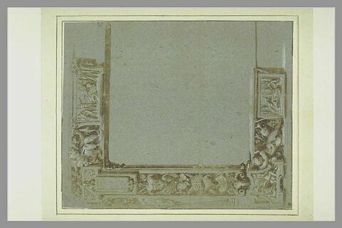 Etude pour une bordure de tapisserie