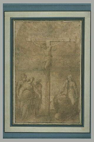 Crucifixion avec la Vierge, saint Jean et les trois Marie