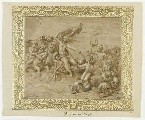 Triomphe de Vénus Amphitrite