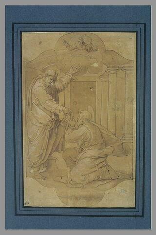 Le Christ donnant les clefs à saint Pierre