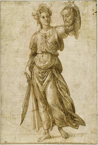 Judith montrant la tête d'Holopherne