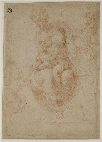 La vierge à l'Enfant avec saint Joseph et saint Jean-Baptiste