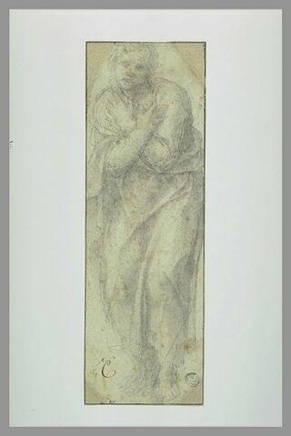 Saint Jean au pied de la croix