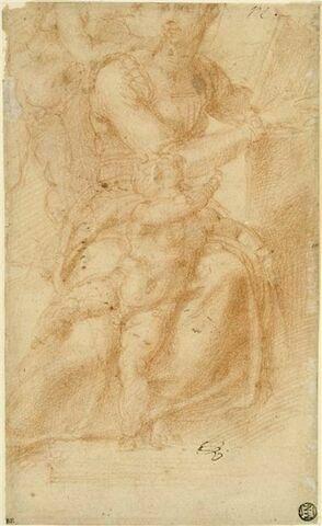 Vierge à l'Enfant avec un second enfant (le petit saint Jean-Baptiste ?)