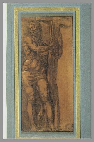 Christ tenant la croix, d'après la statue de Santa Maria sopra Minerva