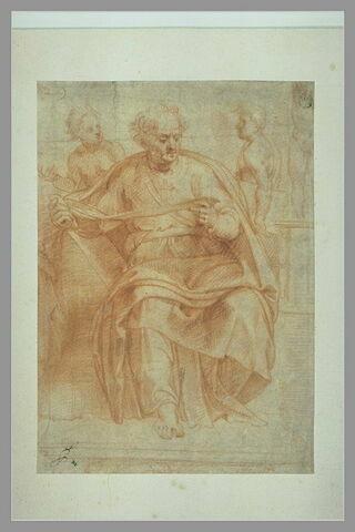 Le prophête Joël, d'après la voûte de la Chapelle Sixtine