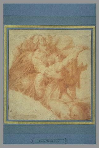 Figures du Serpent d'airain, d'après la voûte de la Chapelle Sixtine