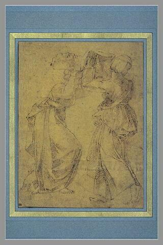 Judith et Holopherne, d'après la voûte de la Chapelle Sixtine