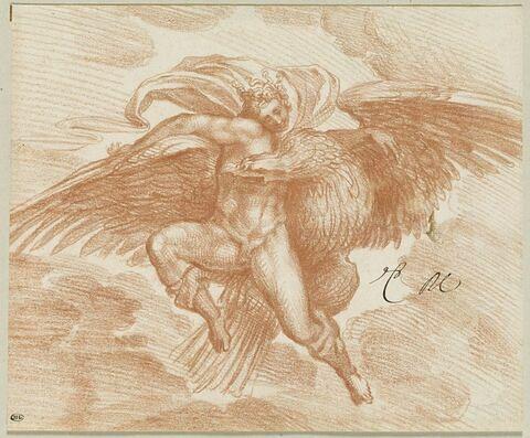 Enlèvement de Ganymède par Jupiter
