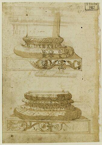 Etudes de deux bases de colonnes
