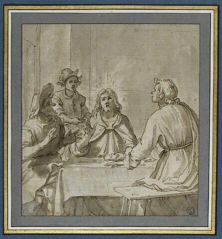 Le Christ et les Pèlerins d'Emmaüs