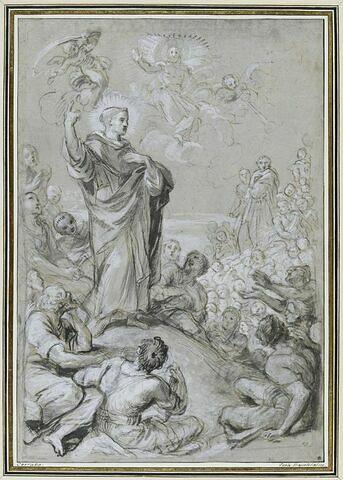 Prédication de saint Vincent Ferrier (?)