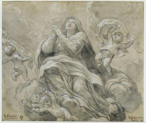 Assomption de la Vierge avec angelots