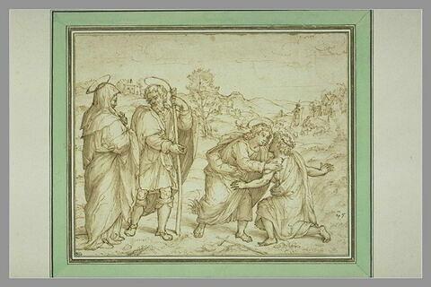 La Rencontre du Christ avec saint Jean-Baptiste