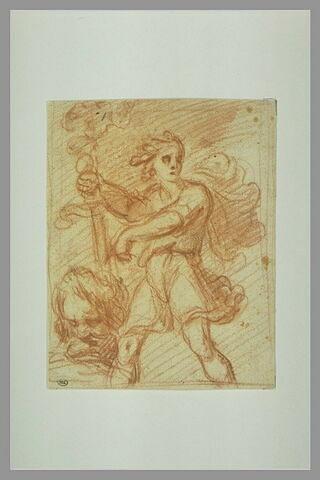 David présentant la tête de Goliath