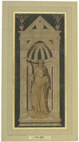 Etude de la statue de Saint Etienne d'Orsanmichele