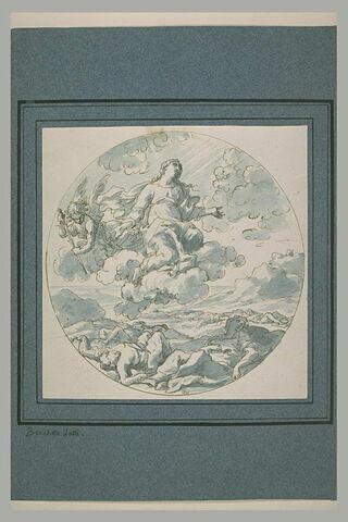 Vierge intercédante, pour la cessation de la peste