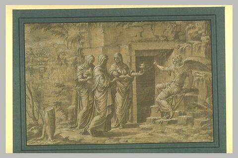 Saintes femmes au sépulcre du Christ