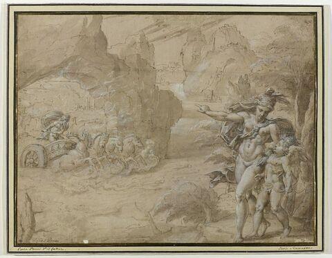 Vénus demandant à l'Amour de frapper Pluton