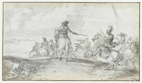 Une marche de cavalerie