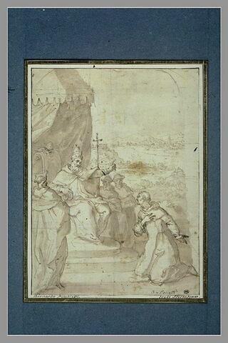 Urbain II demande à saint Bruno de l'aider à gouverner l'Eglise