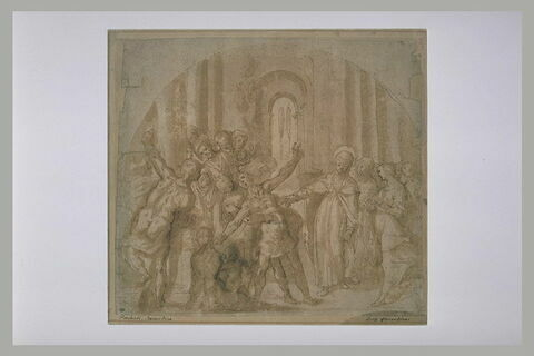 Guérison de sainte Catherine de Sienne