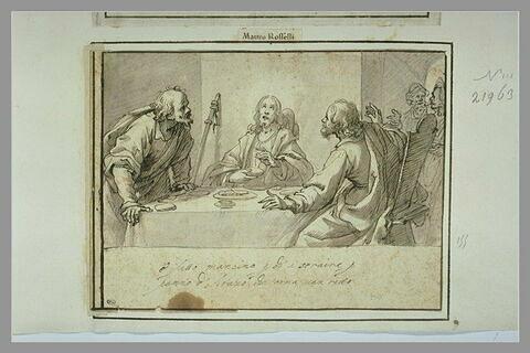 Christ et les Pelèrins d'Emmaüs