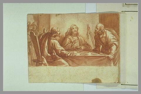 Christ et les Pèlerins d'Emmaüs