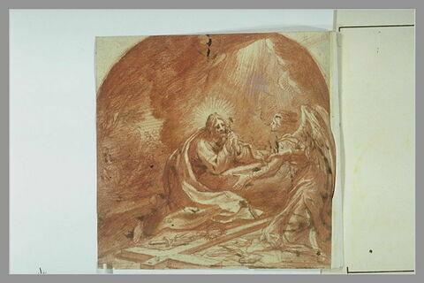 Apparition de l'ange à Jésus au Jardin des Oliviers