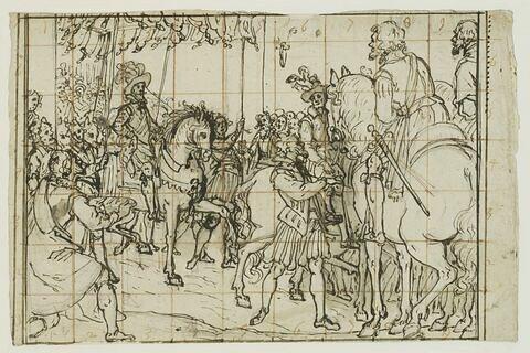 Entrée d'Henri IV à Nantes