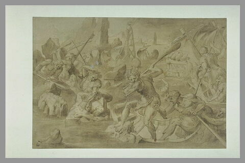 Combat naval : le naufrage d'Ajax